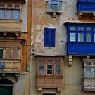 Valetta Balconies. Malta by Igor Pozdnyakov