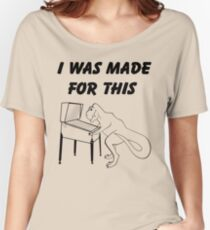 Why T-Rex has short arms! Pinball!  Women's Relaxed Fit T-Shirt