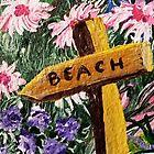 TO THE BEACH by WhiteDove Studio kj gordon