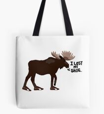 "Sam Winchester - Supernatural - ""I lost my shoe"" Tote Bag"