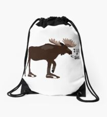 "Sam Winchester - Supernatural - ""I lost my shoe"" Drawstring Bag"