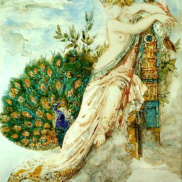 "Gustave Moreau ""The Peacock Complaining to Juno"" by ALD1"