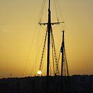 A Boat in Malta by Igor Pozdnyakov