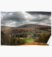 Lake District View Poster