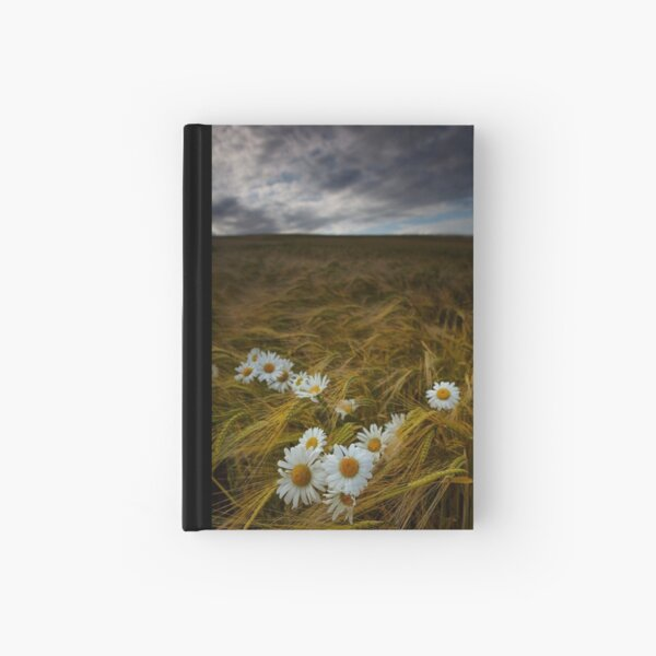 Daisies and Barley Hardcover Journal