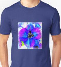 Delphinium Flower Unisex T-Shirt
