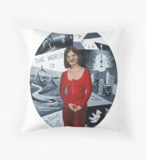 The World is Fragile Throw Pillow