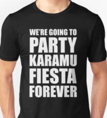 Party Karamu Fiesta Forever (White Text) T-Shirt