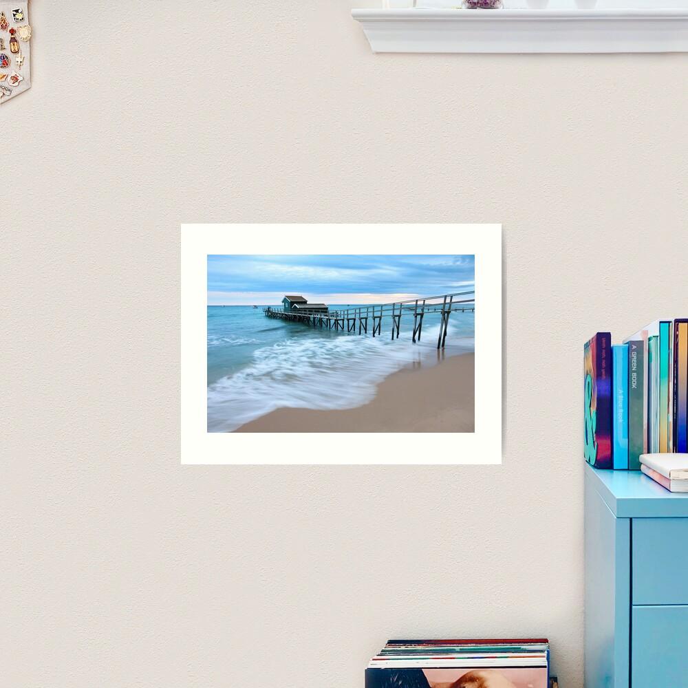 Portsea Pier, Mornington Peninsula, Australia  Art Print