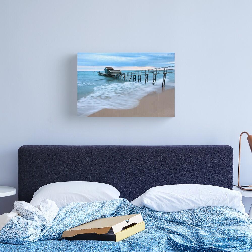 Portsea Pier, Mornington Peninsula, Australia  Canvas Print