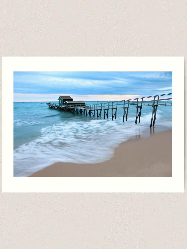Alternate view of Portsea Pier, Mornington Peninsula, Australia  Art Print