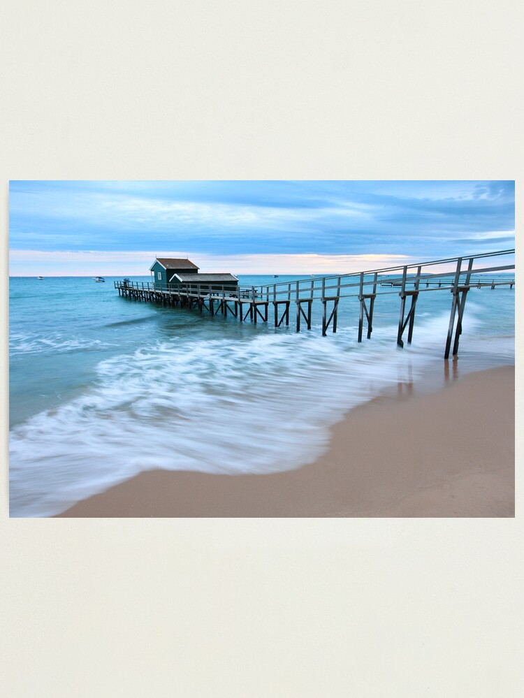 Alternate view of Portsea Pier, Mornington Peninsula, Australia  Photographic Print