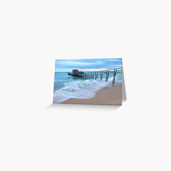 Portsea Pier, Mornington Peninsula, Australia  Greeting Card