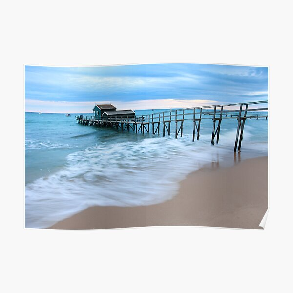 Portsea Pier, Mornington Peninsula, Australia  Poster