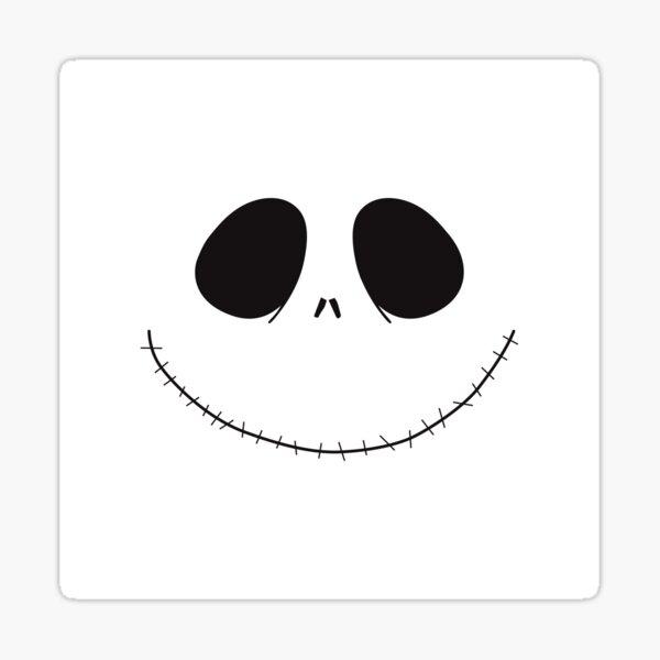 Jack Skellington Halloween Sticker