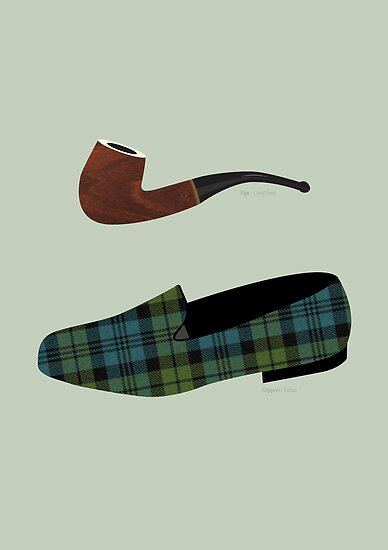 Pipe and Slippers by Stephen Wildish