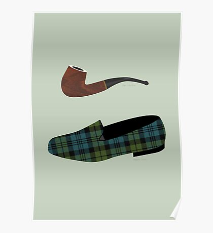 Pipe and Slippers Poster