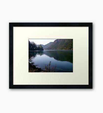 Cameron Lake,Vancouver Island Framed Print