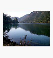 Cameron Lake,Vancouver Island Photographic Print