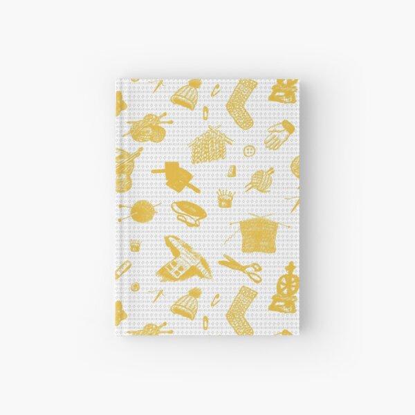 Tak Dee Sock - Yellow Hardcover Journal