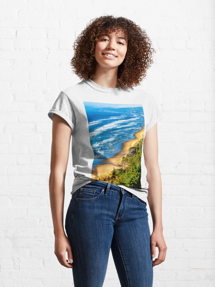 Alternate view of Cape Lookout Oregon 0636 Classic T-Shirt