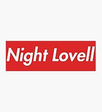 Night Lovell Photographic Print