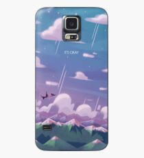 Here Comes a Thought Case/Skin for Samsung Galaxy