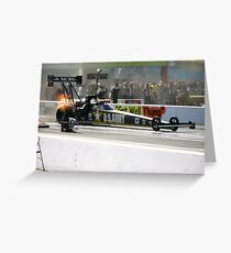 zMax Drag Strip 4 wide Greeting Card