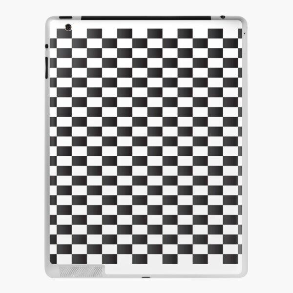 checkerboard phone case iPad Skin
