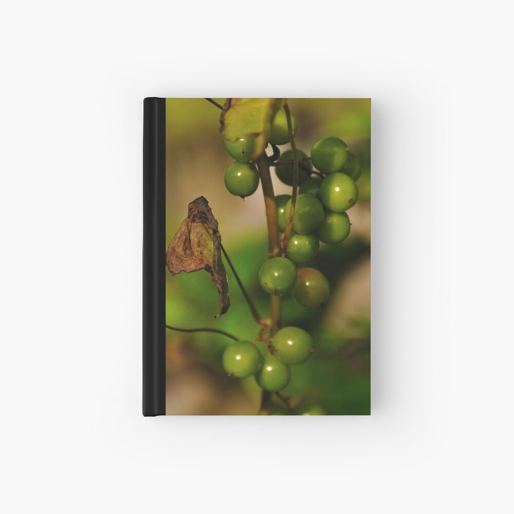 Convolvulous Berries Hardcover Journal