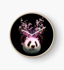 PANDA HORNS UP Clock