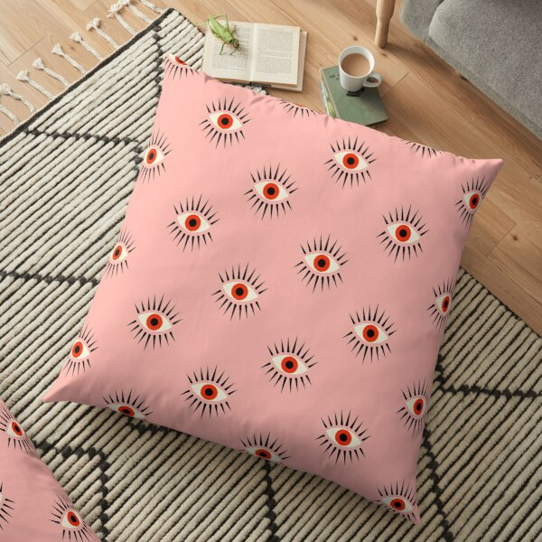 Red Eye Floor Pillow