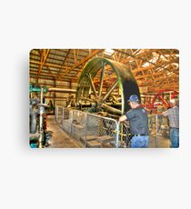 Big Wheels - keep on turning Metal Print