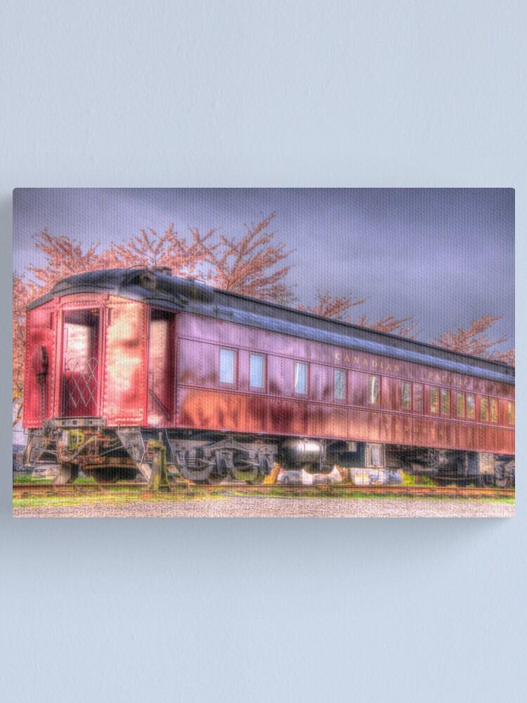 Alternate view of Venosta Railcar Canvas Print
