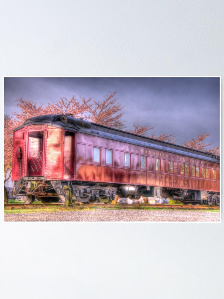 Alternate view of Venosta Railcar Poster