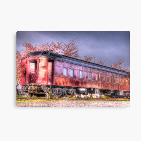 Venosta Railcar Canvas Print
