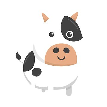 Adorable Cow & Cute Baby Calf by perfectpresents
