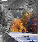 Life is a journey..enjoy the ride by Beth Brightman