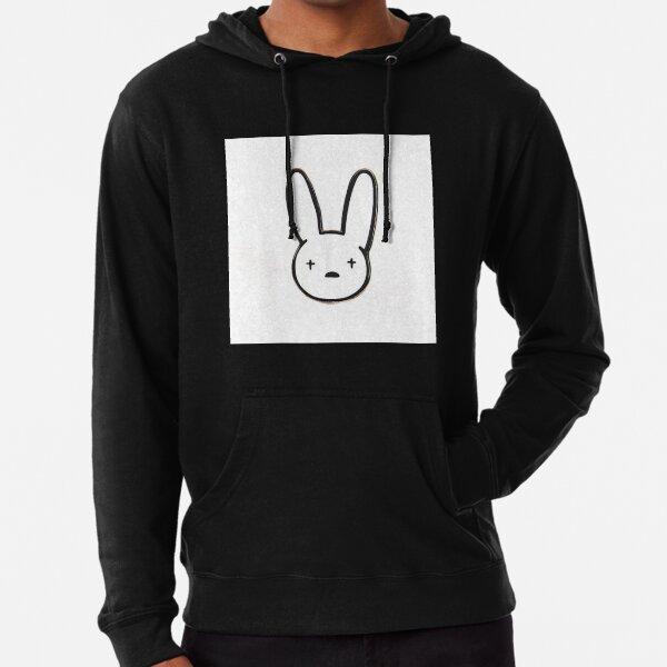 Bad bunny el conejo malo Sudadera ligera con capucha
