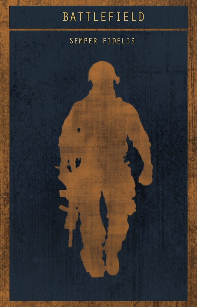 Battlefield 3 gaming poster by HAPPYDOOMSDAY
