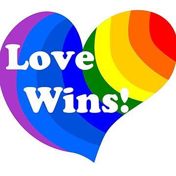 Love Wins Heart by BeachCafe
