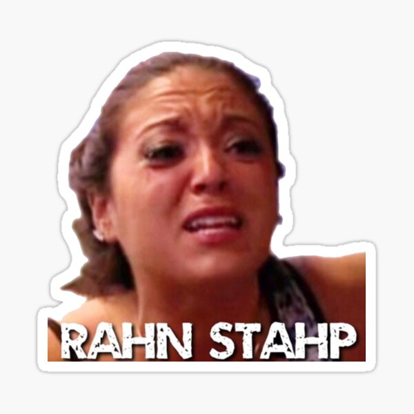rahn stahp  Sticker