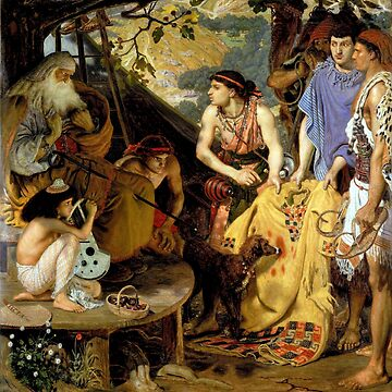 The Coat of Many Colors - Ford Maddox Brown by forgottenbeauty