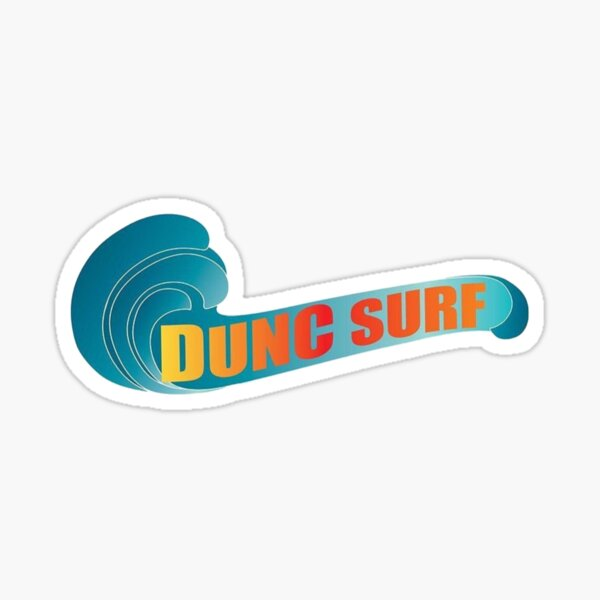 Dunc Surf Real Bros of Simi Valley Sticker