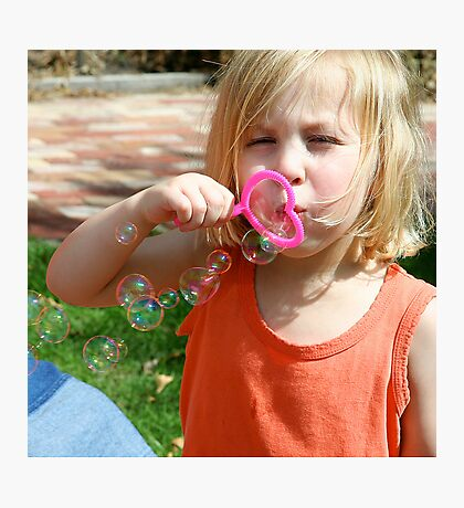 Bubbles in the Air Photographic Print