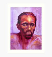Portrait of Ngala Art Print