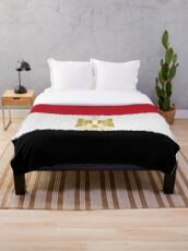 Flag of Egypt - Extruded Throw Blanket