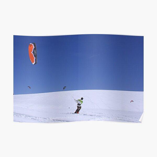 Snow Kites Poster