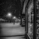 A winter night in the village by Kendall McKernon