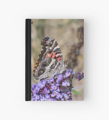 Painted Lady Lunching Hardcover Journal
